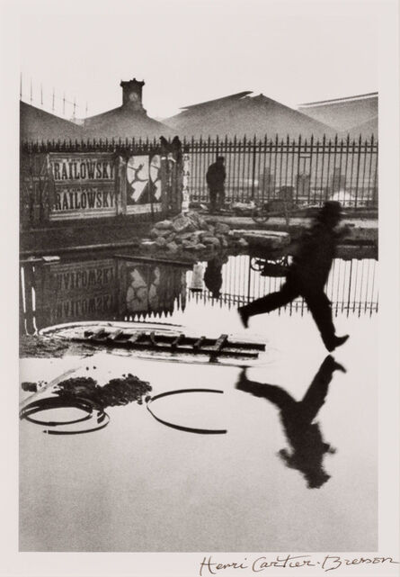 Henri Cartier-Bresson, 'Behind the Gare Saint-Lazare', 1932