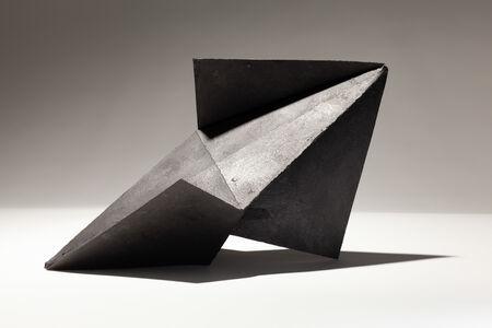 Felecia Chizuko Carlisle, 'Decahedron Variant in Black and White', 2020