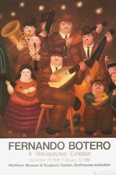 Fernando Botero, 'Los Musicos', 1980