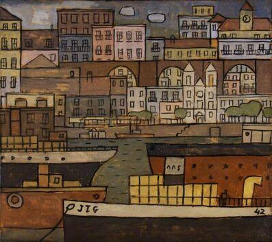Joaquín Torres-García, 'Ciudad con Puente y Puerto constructivo', 1942