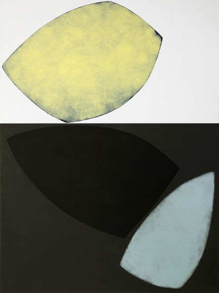 Eveline Stauffer, 'Shape with yellow light', 2021
