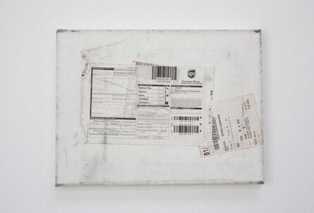 Karin Sander, 'Mailed Painting 3 Berlin - Madrid - Berlin - Düsseldorf - Berlin - München - Siegen - Berlin - Madrid', 2005