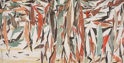Chen Wen Hsi, 'Herons', ca. 1991
