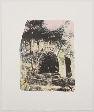 Hung Liu 刘虹, 'Grandfather's Mountain: The Rock', 2013