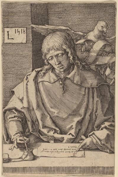 Lucas van Leyden, 'Saint John', 1518