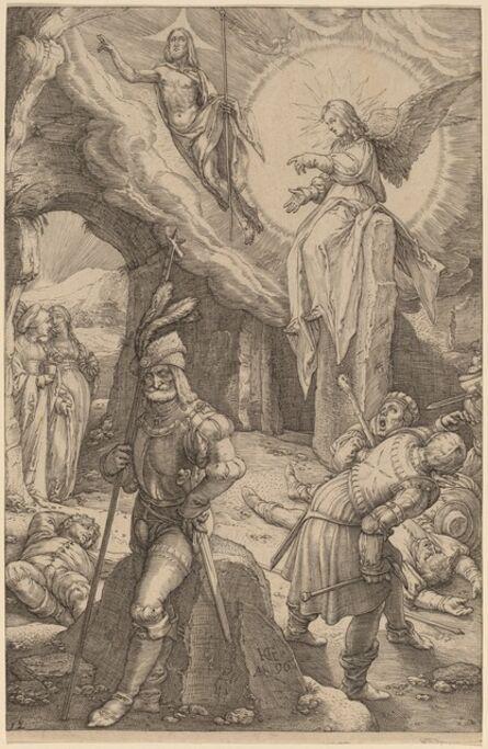 Hendrik Goltzius, 'The Resurrection', 1596