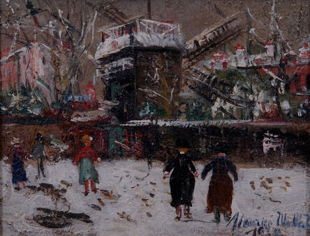 Maurice Utrillo, 'Montmartre', 1935