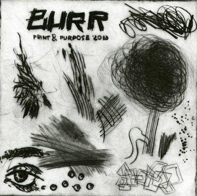 Various Printmakers, 'Burr Print & Purpose', 2016