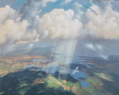 James Lynch (b. 1956), 'Convergence over Poole Harbour'
