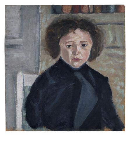 Arnold Schönberg, 'Portrait of Georg Schönberg', 1910