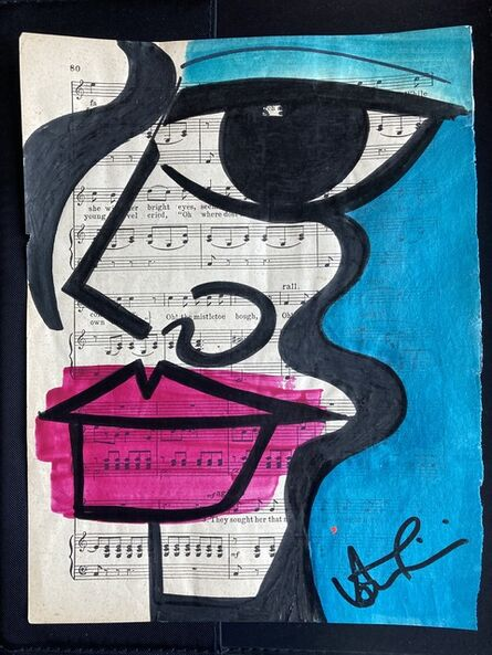 Anna Laurini, 'Blue Note 9 - A4', 2020