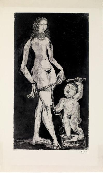 Pablo Picasso, 'Venus et l'amour,d'après Cranach, c. May 30, 1949 and c. 1951', 1951