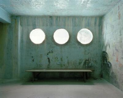 Lisa Kereszi, 'Three windows under pool, Sunrise Resort, Connecticut', 2008