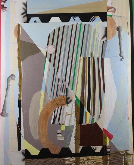 Luis Hampshire, 'Metate estructura hueso', 2017