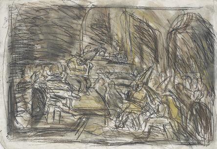 Leon Kossoff, 'From Goya 'Auto de Fe'', 1994