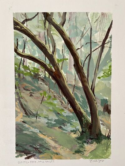 Ondrea Vicklund, 'Old Mill Park', 2020