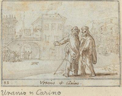 Johann Wilhelm Baur, 'Uranio and Carino', 1640