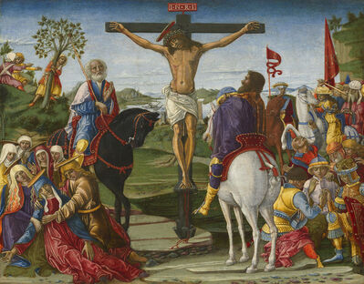 Benvenuto di Giovanni, 'The Crucifixion', probably 1491