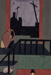 Jacob Lawrence, 'Christmas in Harlem', 1937