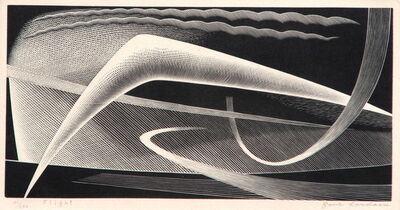 Paul Landacre, 'Flight', 1954
