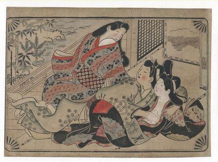 Sugimura Jihei, 'Scenes of Lovemaking', 1680-1690