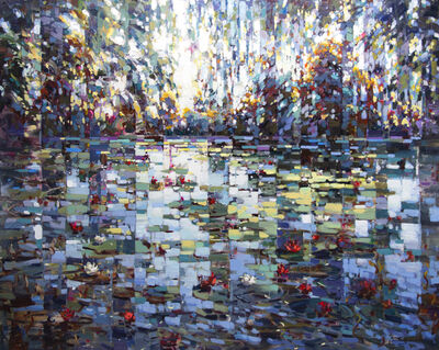 Vadim Dolgov, 'Pond with Lilies', 2020