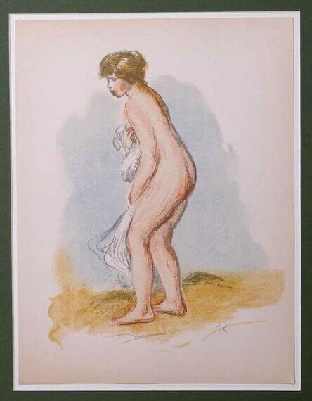 Pierre-Auguste Renoir, 'Baigneuse Debout, en Pied (Standing Bather)', 1896