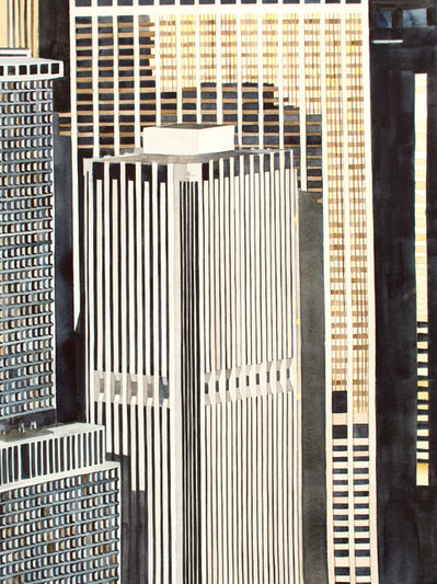 Amy Park, 'Lower Manhattan from 1200'', 2015