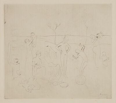 Pablo Picasso, 'Les Saltimbanques, from La suite des Saltimbanques', 1905