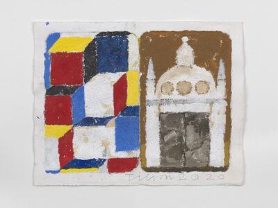 Joe Tilson RA, 'The Stones of Venice Depositi di Pane diptych', 2020