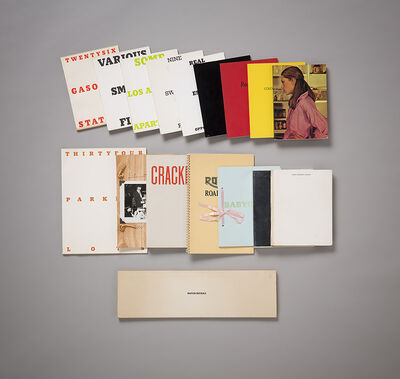 Ed Ruscha, 'A complete & signed collection of Ed Ruscha first edition artists' books', 1963-1978