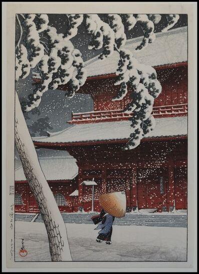 Kawase Hasui, 'Zojoji Shiba', 1925