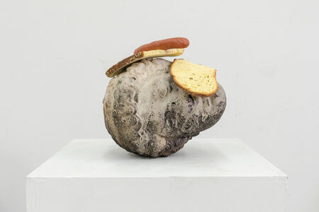 Tony Matelli, 'Bread Head', 2018