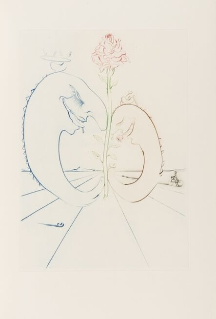 Salvador Dalí, 'Babaouo (Field 78-2; M&L 932d & 1543-1549d)', 1978