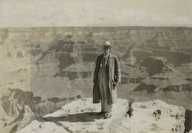 Audley D. Stewart, 'George Eastman at the Grand Canyon', July 12-1930