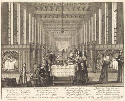 Abraham Bosse, 'L'Infirmerie de l'hospital de la Charite de Paris'