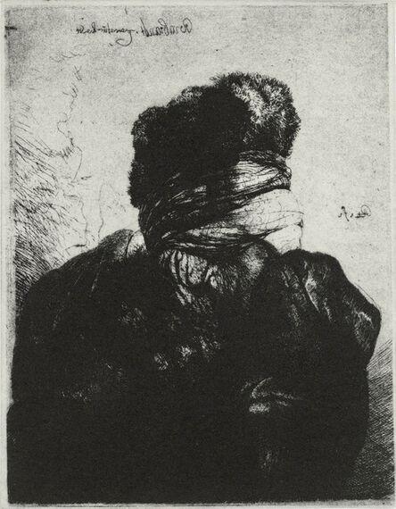 Glenn Brown, 'Layered Portrait (after Rembrandt) 7', 2008