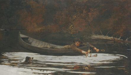 Winslow Homer, 'Hound and Hunter', 1892