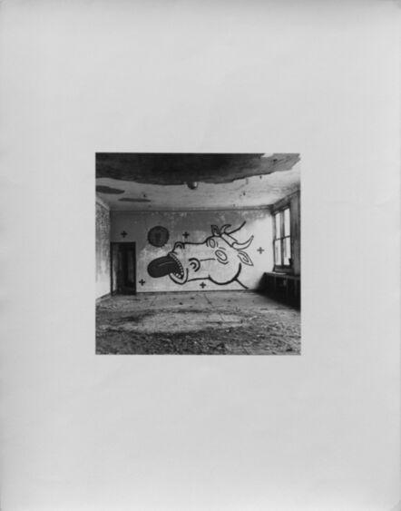 Peter Hujar, 'David Wojnarowicz's Wall Drawing at Pier 34', 1983