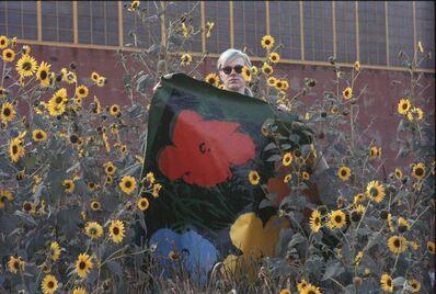 William John Kennedy, 'Warhol Flowers X', Executed 1964-Printed 2012
