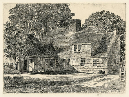 Childe Hassam, 'The Old Dominy House (East Hampton)', 1928