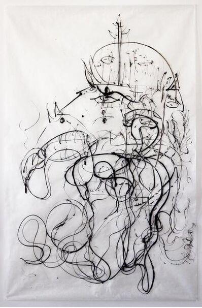 ANURADHA DELACOUR, 'Garuda de la Mer', 2014