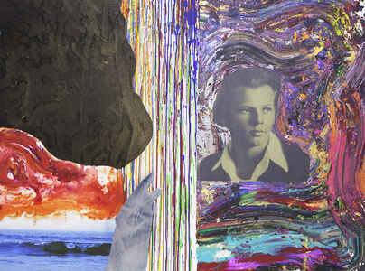 Bedri Baykam, 'Young Jackson Pollock', 2015