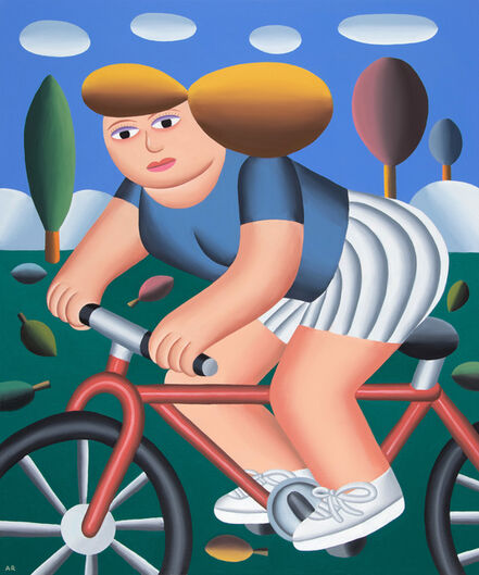 Andy Rementer, 'Autumn Ride', 2020