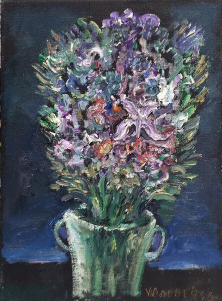 Yosl Bergner, 'Purple Bouquet', 2011