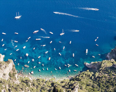 Jonathan Smith, 'Yachts From Monte Solaro', 2016