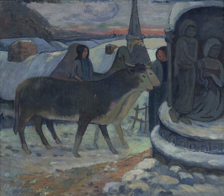 Paul Gauguin, 'Christmas Night (The Blessing of the Oxen)', 1902-1903
