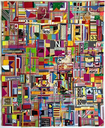 Matt Gonzalez, 'The Letter N Collage (Self-Portrait #2 with Six Women)', 2017