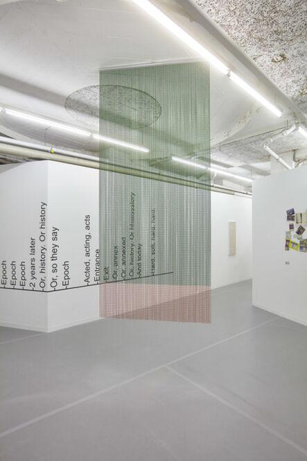 Ruth Buchanan, 'Split, Splits, Splitting',  2016/2018