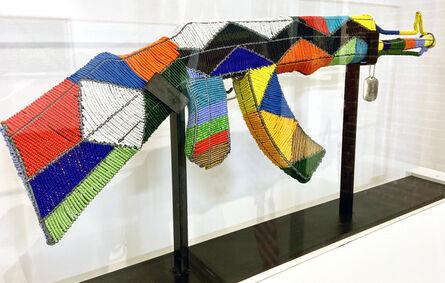 Ralph Ziman, 'Select Casspir Color Series Beaded AK-47 Sculptures', 2019